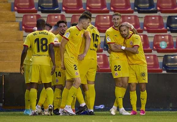 Жирона обыграла Райо Вальекано в первом матче финала плей-офф за выход в Ла Лигу