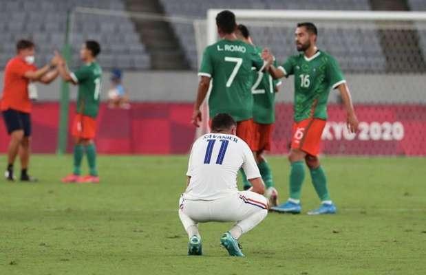 Олимпиада. Египет выстоял против Испании, Мексика разбила Францию