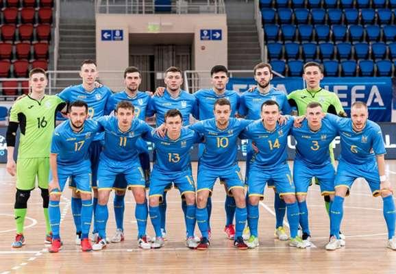 Футзал. Украина уступила Румынии в товарищеском матче