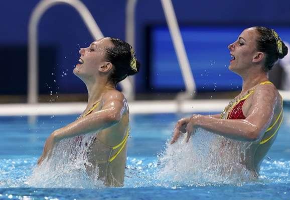 Федина и Савчук завоевали еще одну медаль на ЧЕ по артистичному плаванию