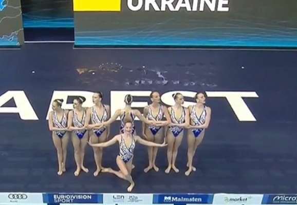Украинки завоевали серебро чемпионата Европы по командному артистическому плаванию