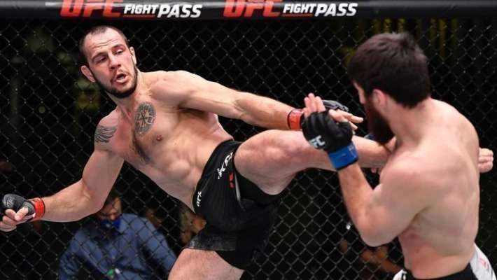 Экс-украинец Крылов проиграл на UFC Fight Night 186
