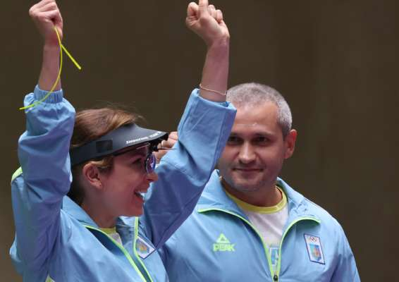 Костевич и Омельчук завоевали бронзу Олимпиады