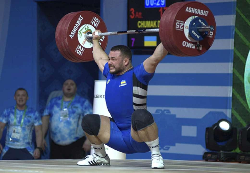 Українець Чумак - чемпіон Європи з важкої атлетики
