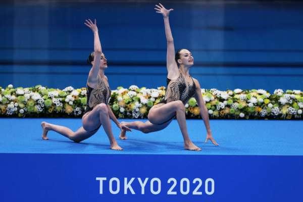 Очень уверенно. Украинские синхронистки вышли в финал Олимпийских игр