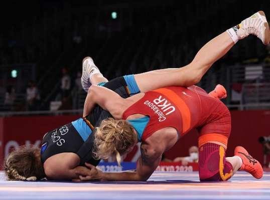 Вольная борьба. Черкасова не смогла справиться с представительницей США в полуфинале
