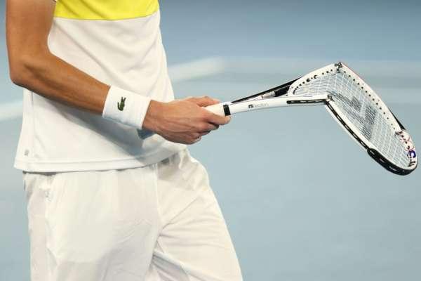 Как игроки ломали ракетки на US Open