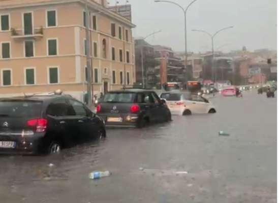 Затопленный Рим