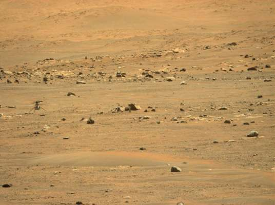 Марсіанський дрон Ingenuity здійснив переліт на нове місце