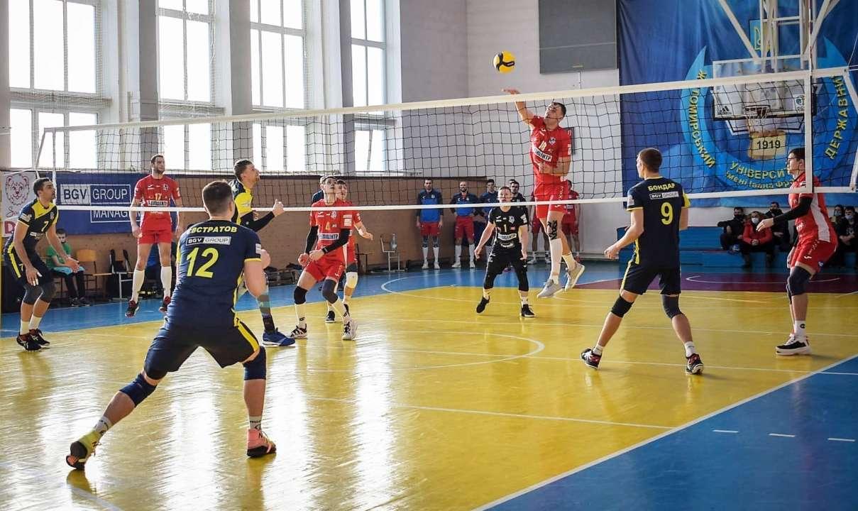 Визначилися учасники Фіналу чотирьох Кубка України з волейболу серед чолові