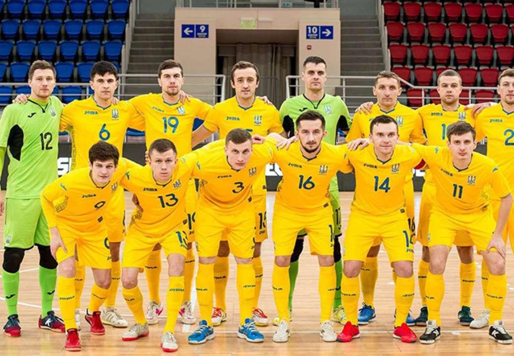 Телеканали Футбол покажуть матчі України у відборі на Євро по футзалу