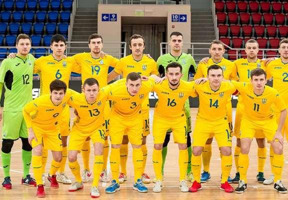 Телеканалы Футбол покажут матчи Украины в отборе на Евро по футзалу
