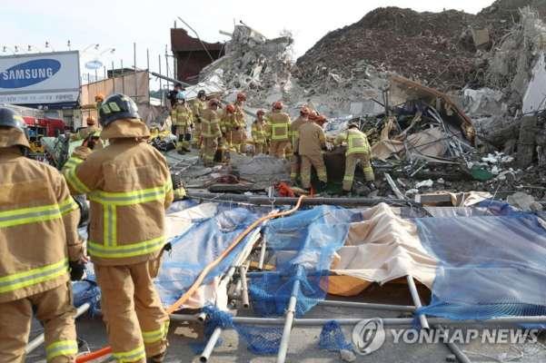 У Південній Кореї під час знесення будинку загинуло 9 людей