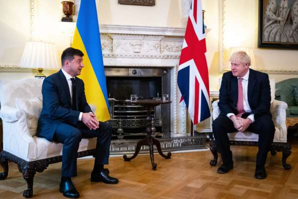 Встреча Владимира Зеленского и Бориса Джонсона: что обсуждали политики