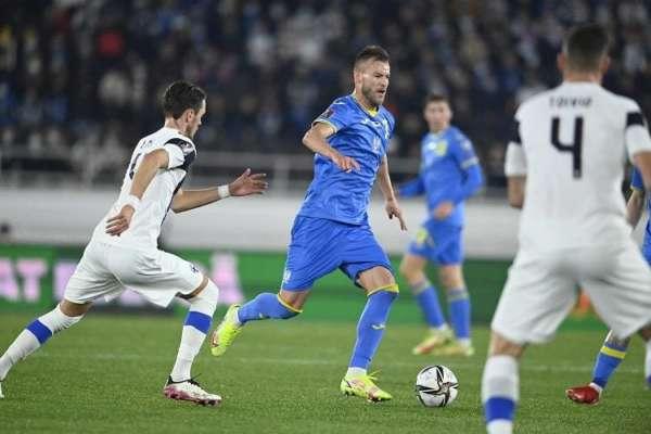 Ярмоленко забил 44-й гол за сборную Украины и приблизился к Шевченко