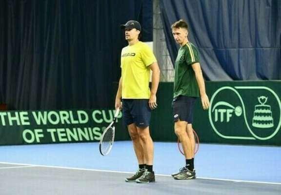Стаховский и Молчанов пробились в полуфинал домашнего турнира в Киеве