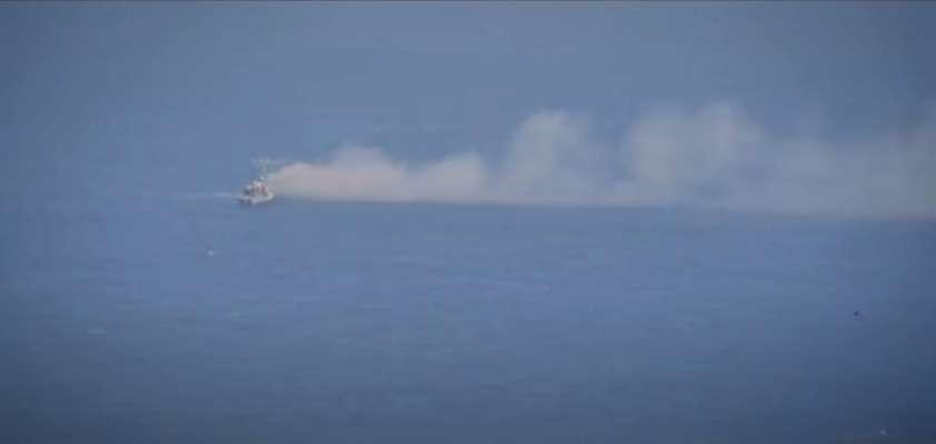 Армия США ракетами уничтожила свой фрегат Военно-морских сил