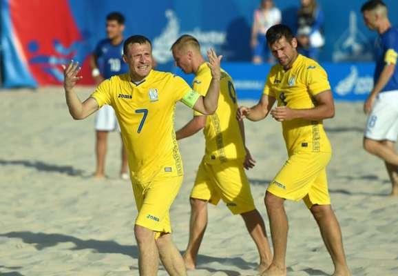 Друге місце дуже близько. Україна розгромила Казахстан у відборі на ЧС з пляжного футболу