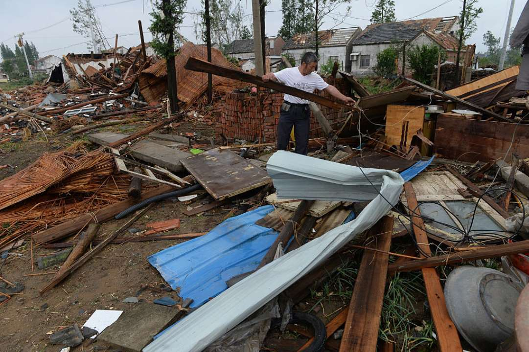 У Китаї евакуювали 3 тисячі людей через ураган