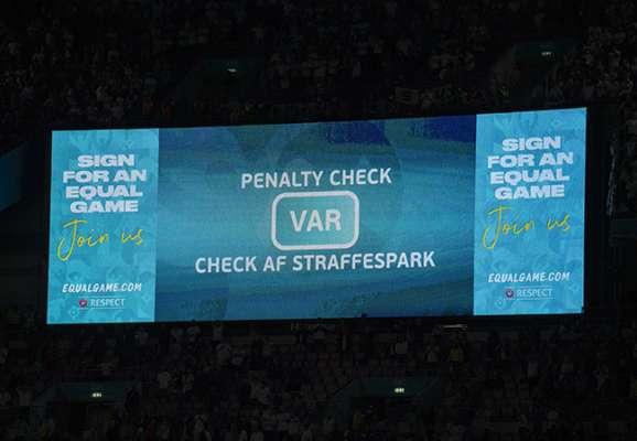 На оставшихся матчах европейского отбора на ЧМ-2022 будут использовать систему VAR