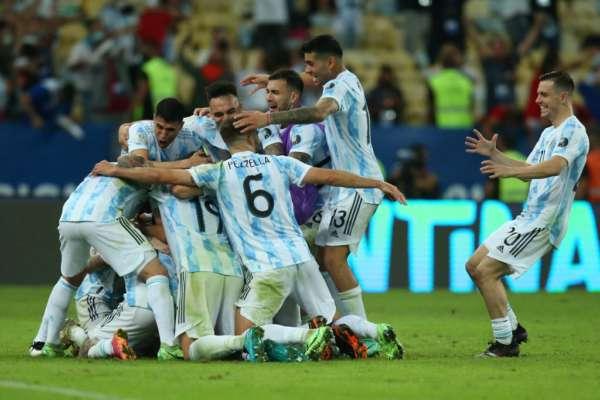 Аргентина - Бразилия - 1:0. Обзор матча и видео гола