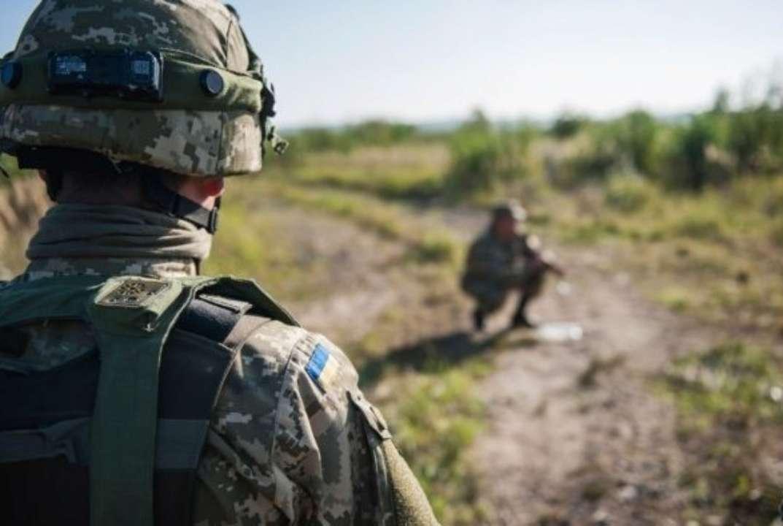 В Донецкой области ранили двух украинских военных
