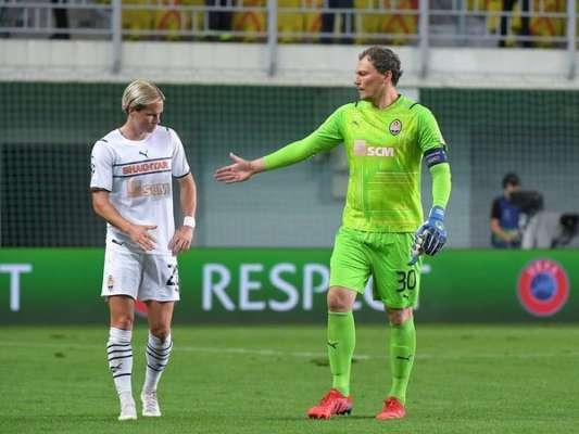 Попереду тільки Срна і Шовковський. Пятов провів ювілейний матч в єврокубках
