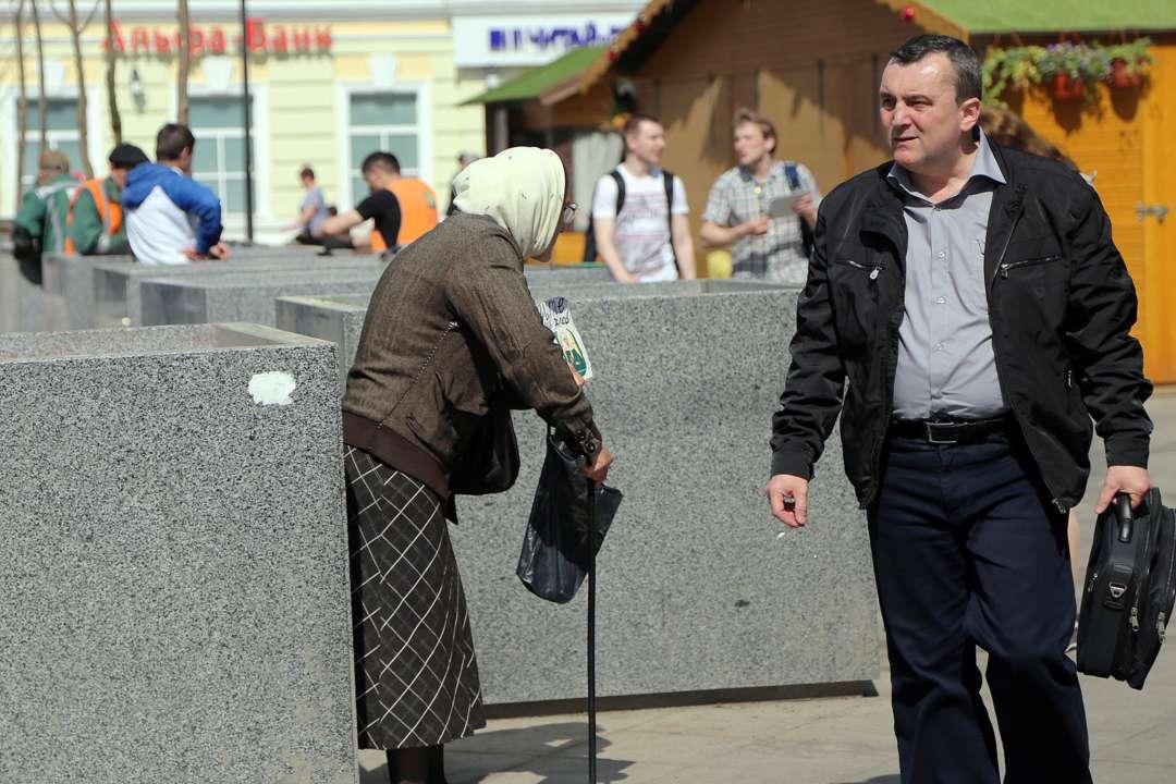Треть работающего населения Украины живет за чертой бедности