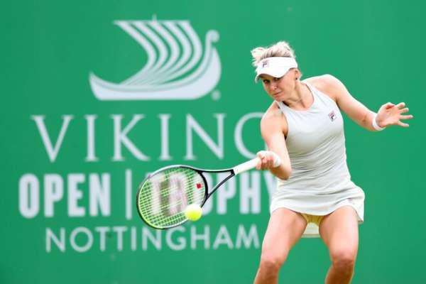 Катерина Козлова виграла перший матч на турнірі в Польщі