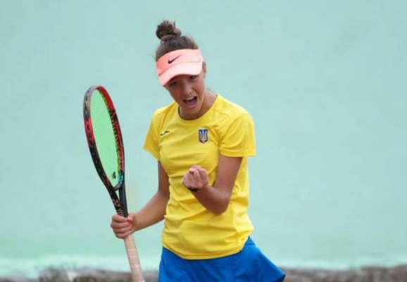 16-летняя украинка выиграла первый в карьере турнир ITF
