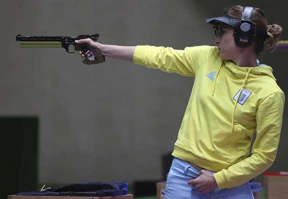 Кульова стрільба. Костевич показала 6-й результат у першій частині кваліфікації на дистанції з 25 м