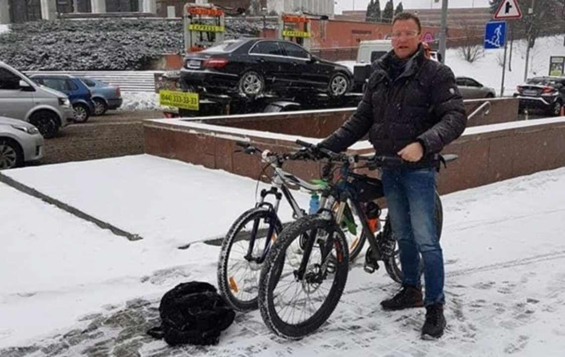 У Києві сталася крадіжка велосипеда у дипломата з Нідерландів