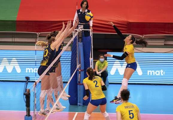 Українки програли Швеції, але вийшли на чисте друге місце у відборі на волейбольний Євро-2021
