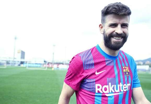 Барселона презентовала домашнюю форму на сезон-2021/22 (ВИДЕО)