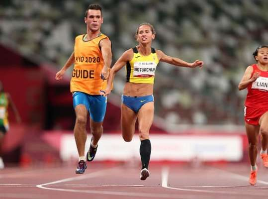Паралимпиада. Ботурчук завоевала серебро в беге на 100 метров