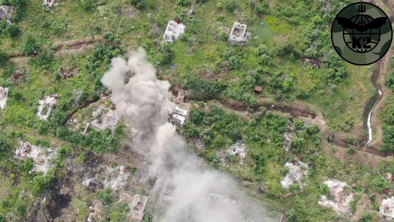 ВИДЕО. Украинские военные уничтожили наблюдательный пункт боевиков