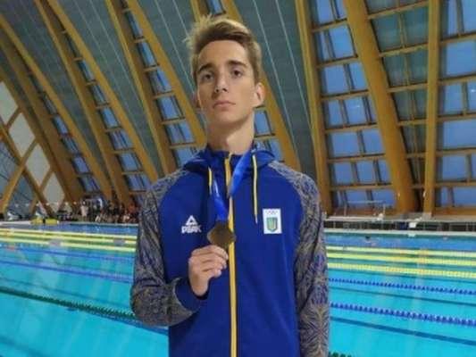 Українському плавцю не вистачило 0.05 секунди, щоб вийти у фінал