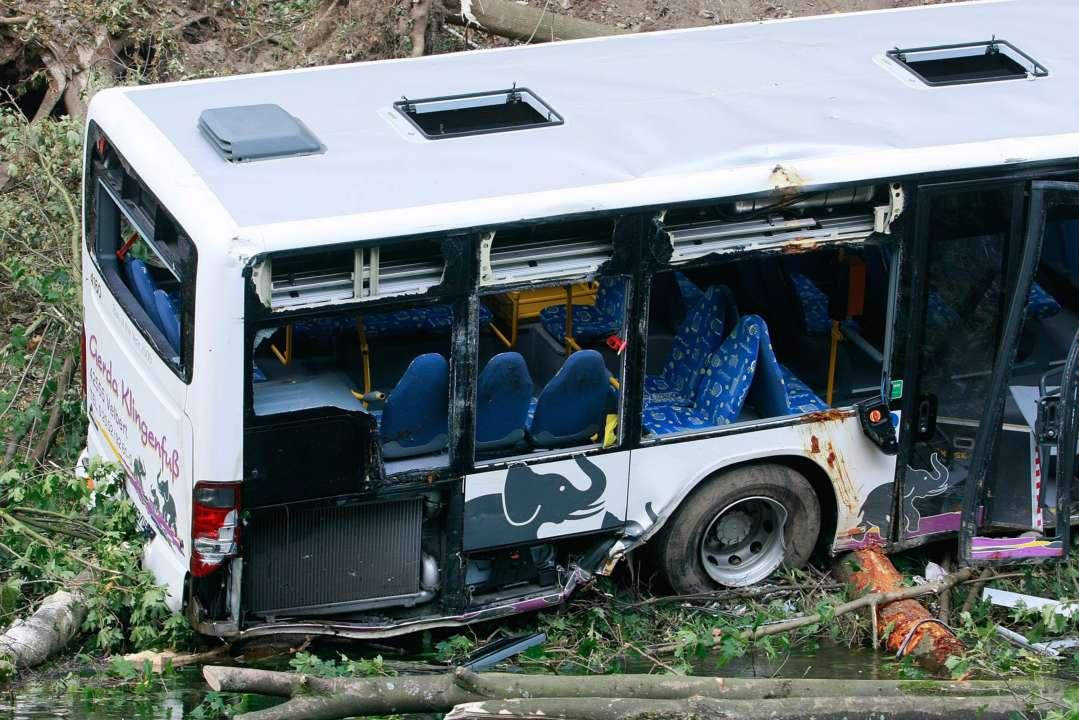 Авария автобуса в Индии: 10 человек погибли