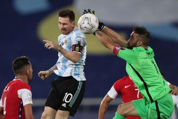 Кубок Америки. Рекордний гол Мессі не допоміг Аргентині взяти три очки в матчі з Чилі