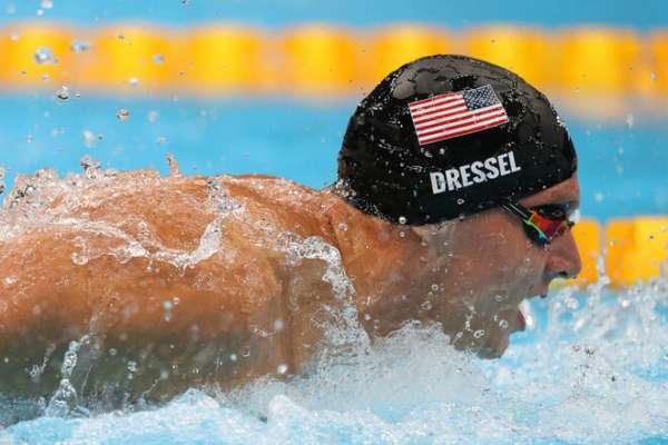 Американський плавець Дрессел встановив світовий рекорд на дистанції 100 м батерфляєм