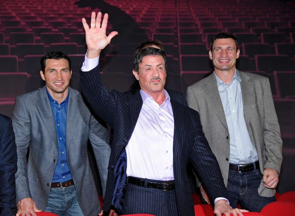 Сталлоне снимет фильм про братьев Кличко