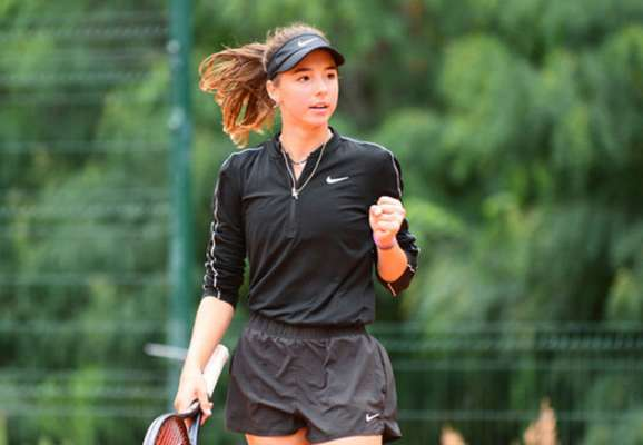 Вот это талант! 17-летняя украинка второй раз кряду вышла в 1/2 финала турнира ITF