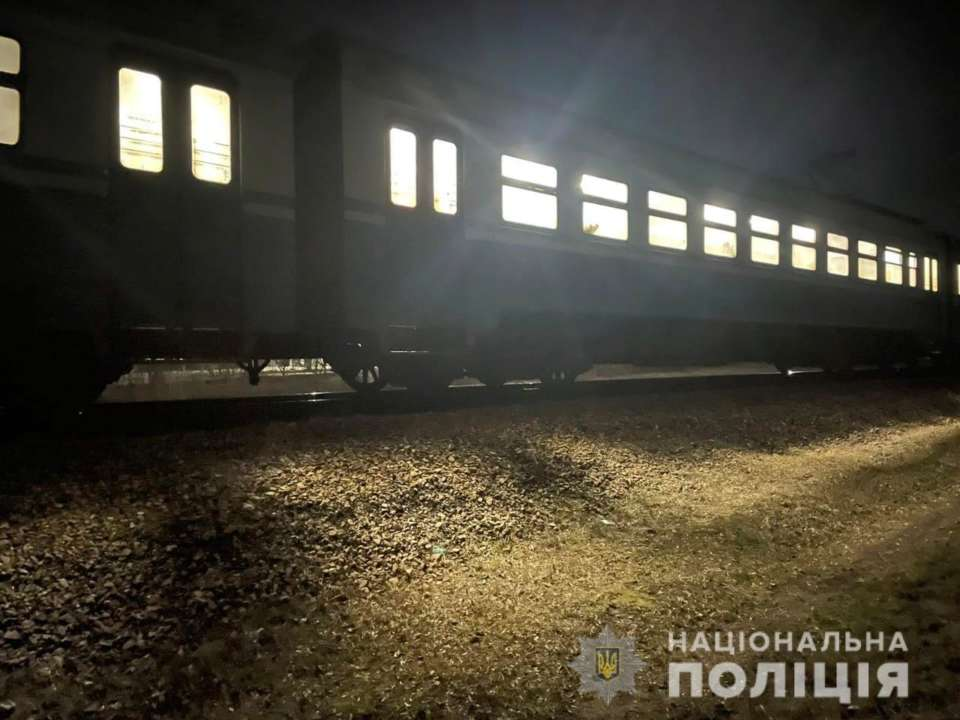 На Харківщині потяг на смерть збив жінку
