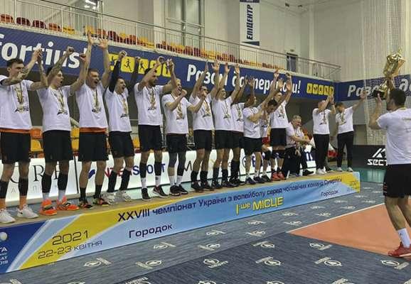 Чемпионы Украины по волейболу будут выступать в чемпионате Польши