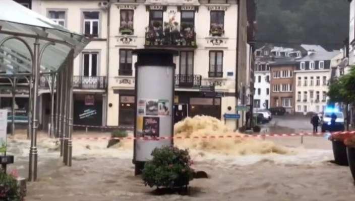 Повінь в Бельгії