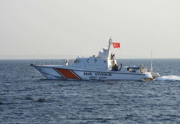 В Одессу с дружеским визитом прибыл катер береговой охраны Турции