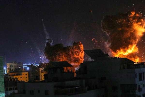 Израиль нанес авиаудар по сектору Газа в ответ на атаку ХАМАСа
