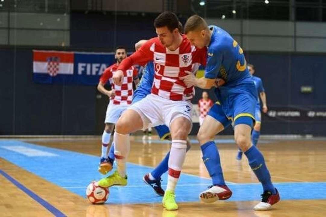 Збірна України з футзалу знищена командою Хорватії