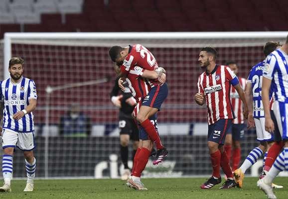 До чемпіонства залишилося два кроки. Атлетіко впорався з Реал Сосьєдадом