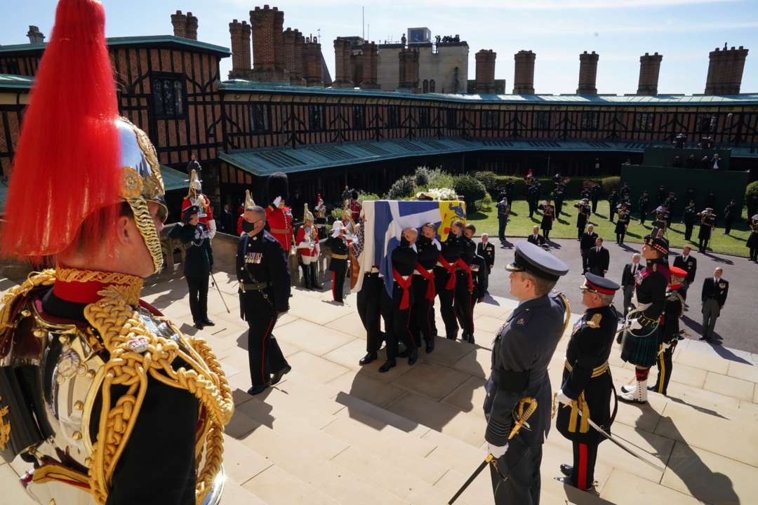 У Британії попрощалися з принцом Філіпом. Фоторепортаж